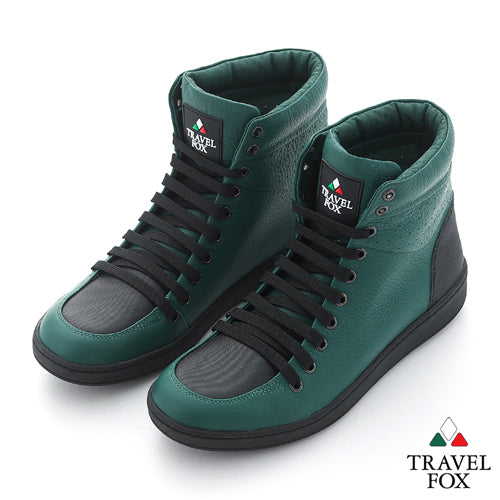 MEN'S 900 SERIES - TWO-TONE GREEN & BLACK NAPPA LEATHER
