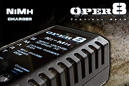 Oper8 NIMH Smart Charger