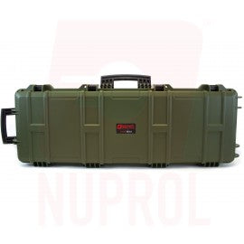 Nuprol large hard case green (wave foam)