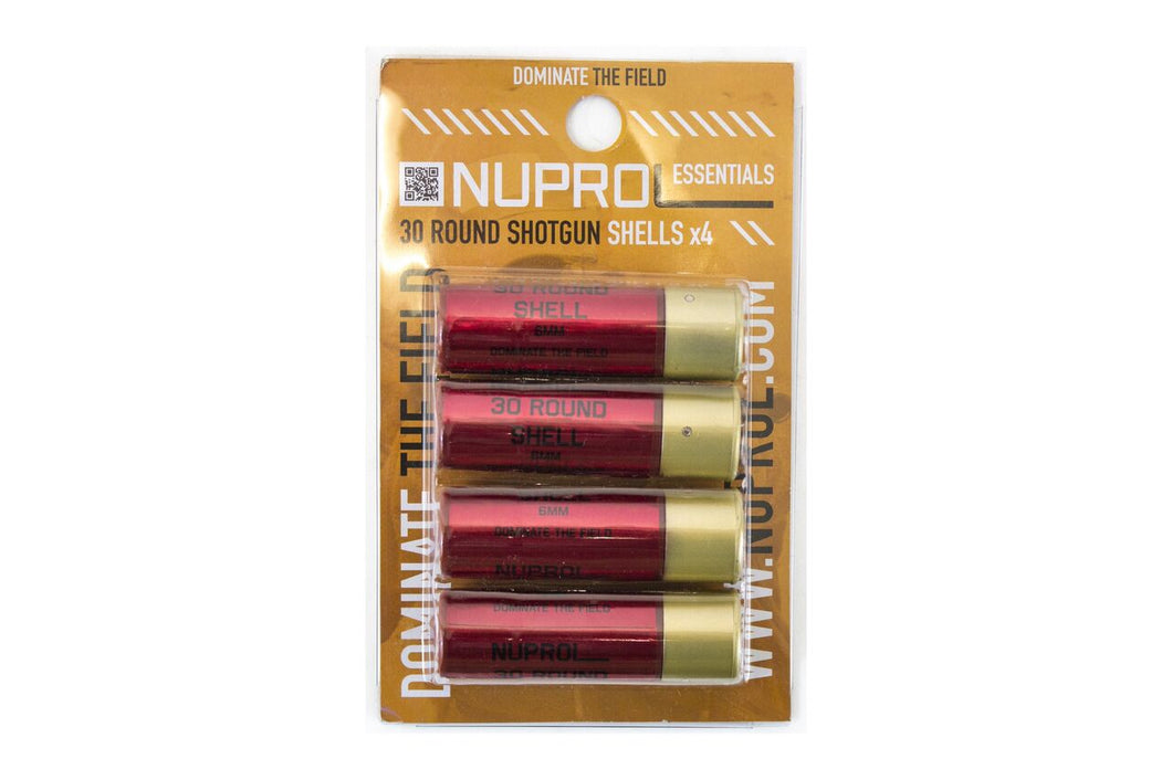 Nuprol 30 Rounds Shot gun shells 4 pack