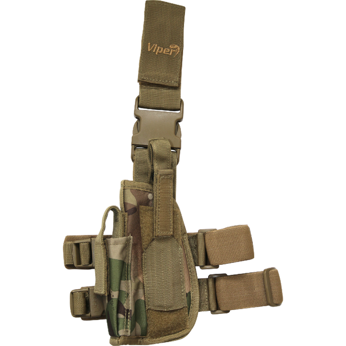 Viper Tactical Leg Holster left Hand.