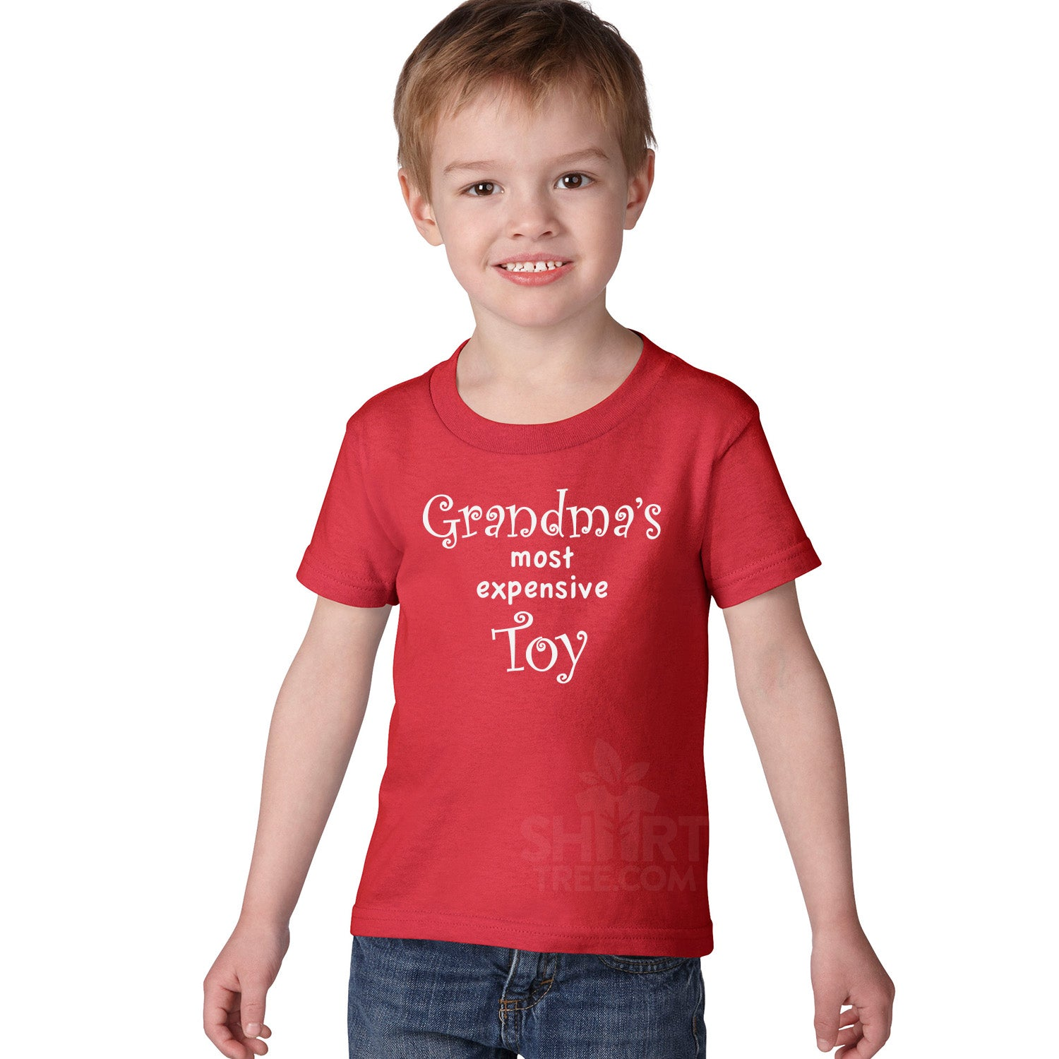 Personalized Grandmas Most Expensive Toy Toddler Birthday Shirt