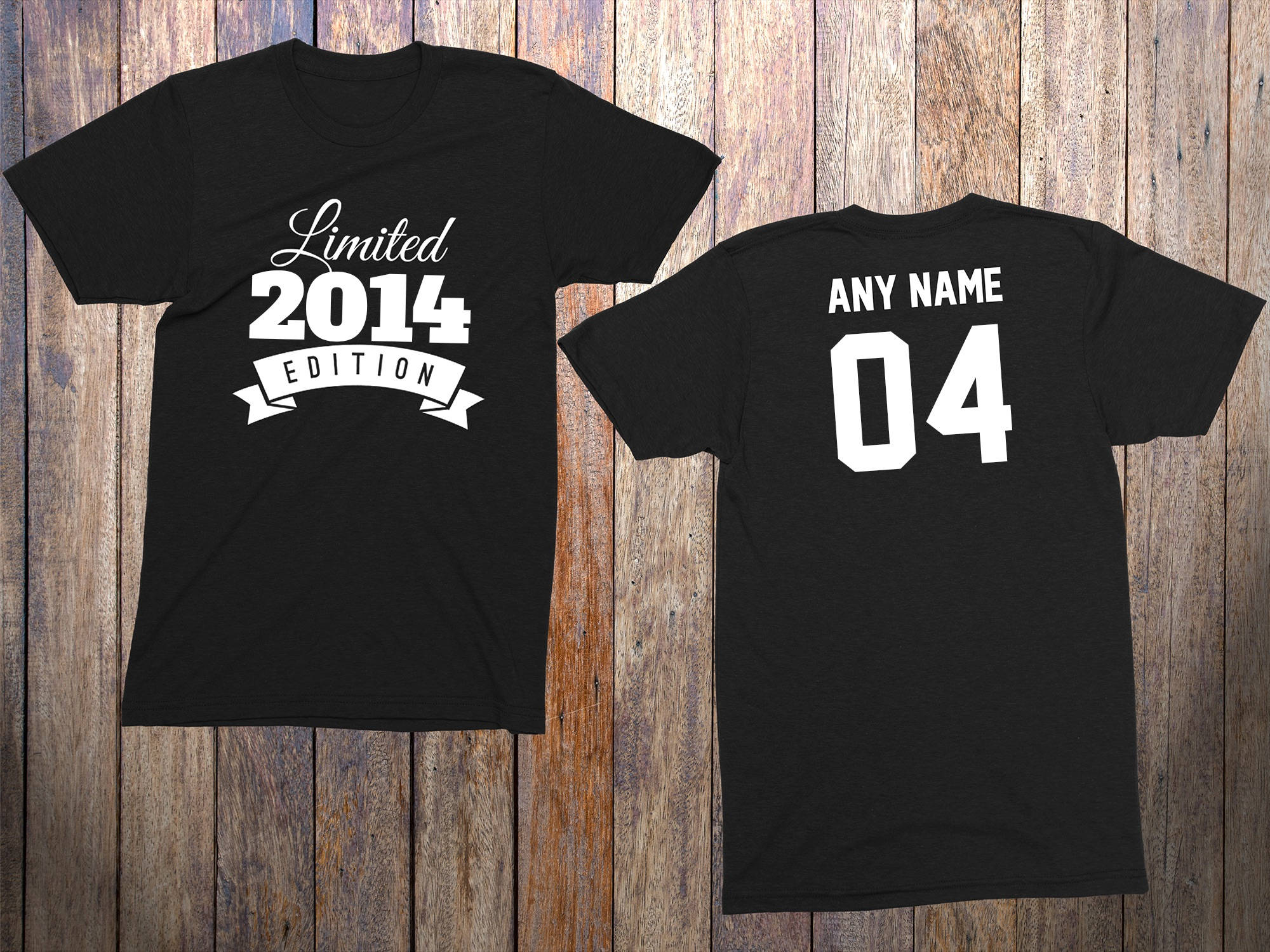4 Year Old Birthday Shirt Or Hoodie 2014 Toddler Limited Edition 4th Celebration