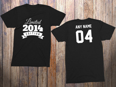 4 Year Old Birthday Shirt Or Hoodie 2014 Toddler Limited Edition 4th