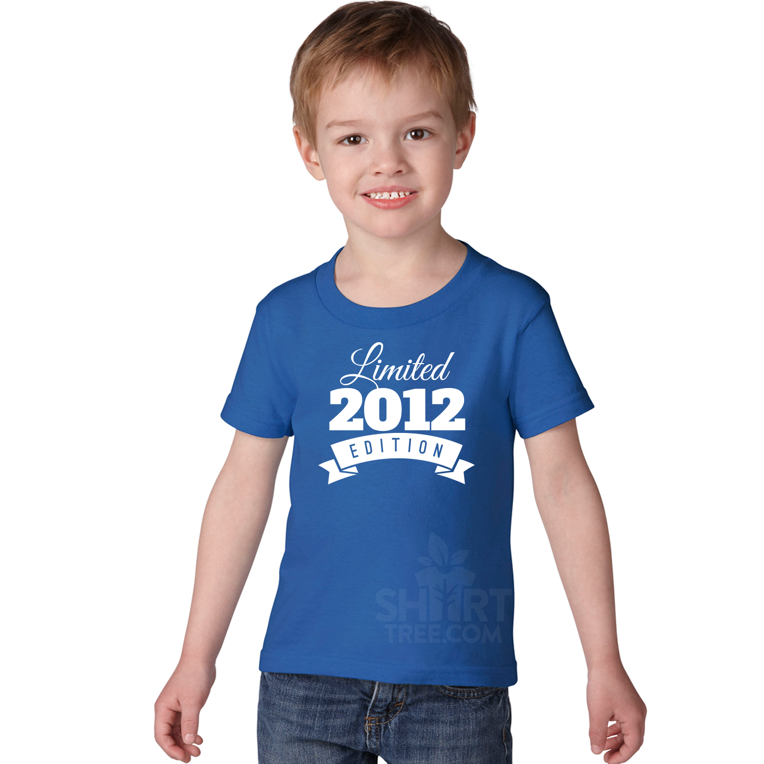 Personalized Limited Edition Toddler Birthday Shirt