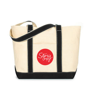 StoryCorps 18 oz. Cotton Tote Bag