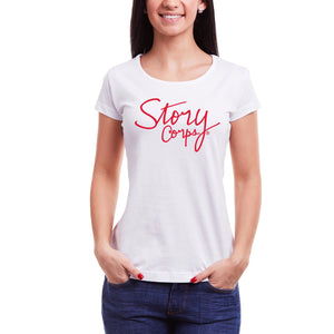StoryCorps Ladies T-Shirt (White)