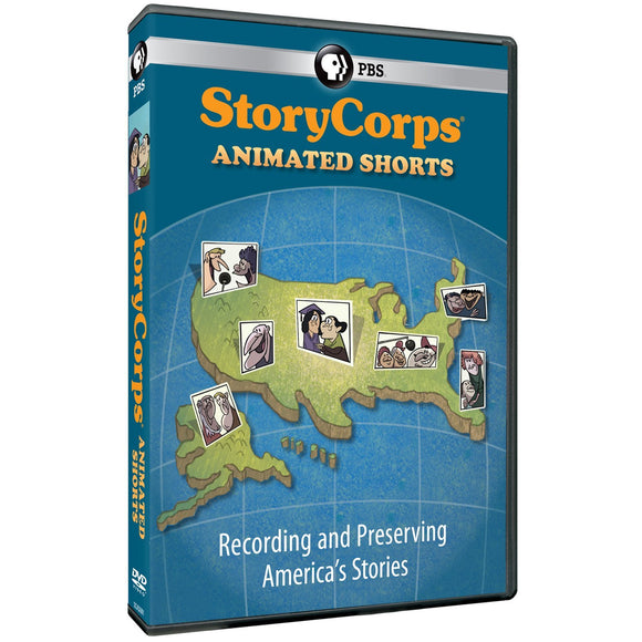 StoryCorps Animated Shorts DVD