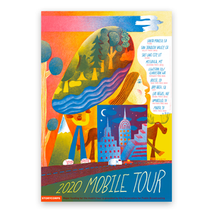 Limited-Edition Mobile Tour 2020 Poster
