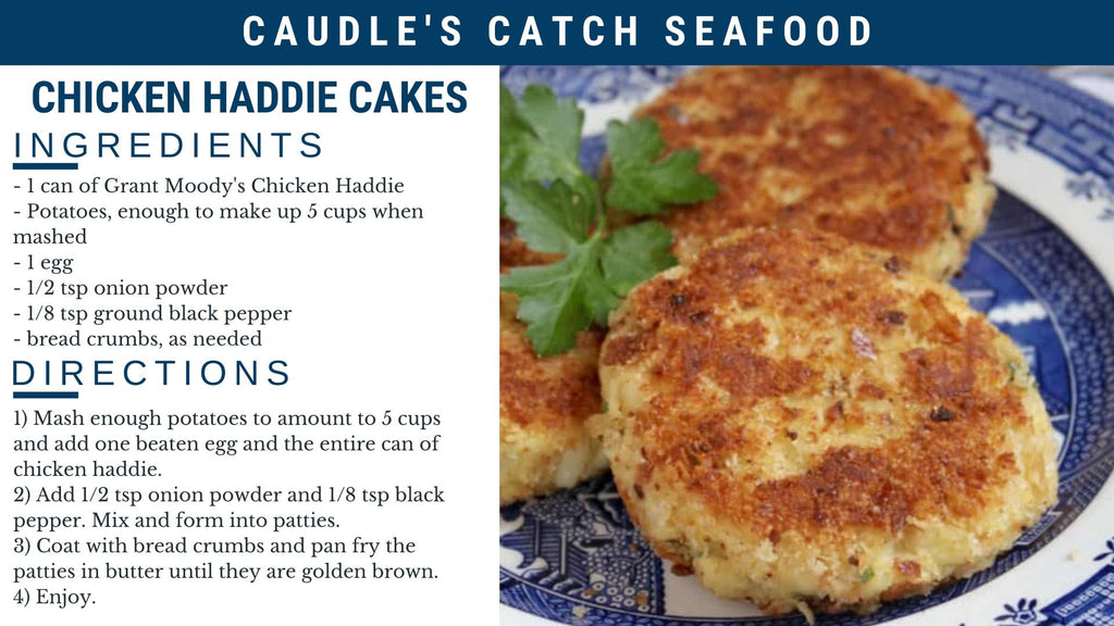 Chicken Haddie Cakes