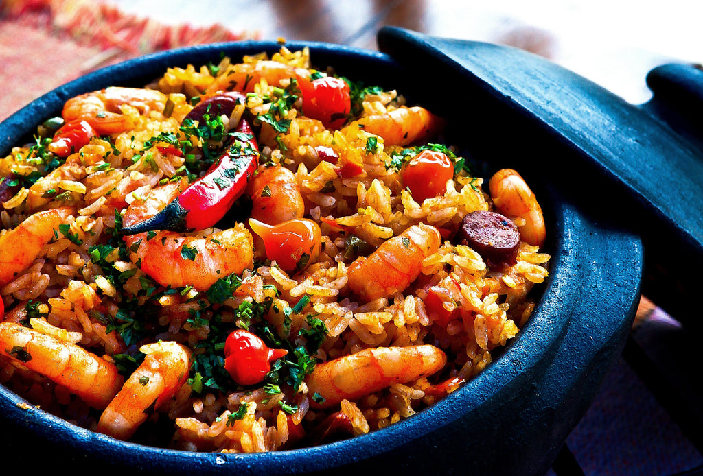 Risotto Style Seafood Paella