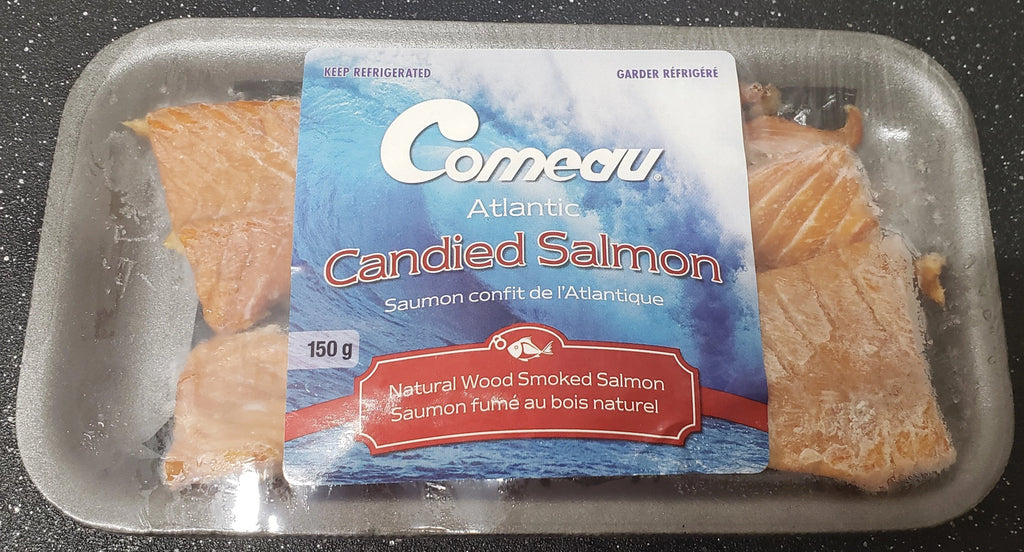 Comeau Smoked Candied Atlantic Salmon 150g