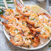 Herb & Garlic Shrimp Skewers