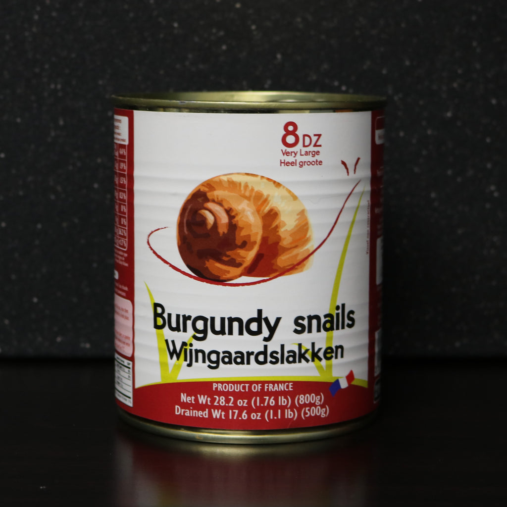 Burgundy Large Canned Escargot
