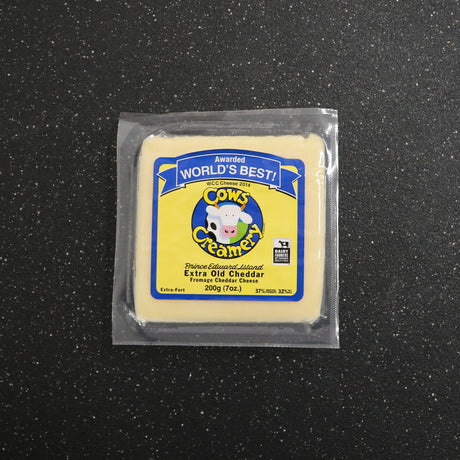 Cows Creamery Extra Old Cheddar
