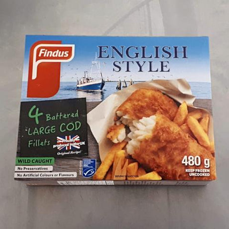 Findus Battered Cod