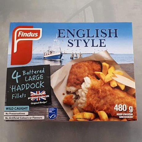 Findus Battered Haddock
