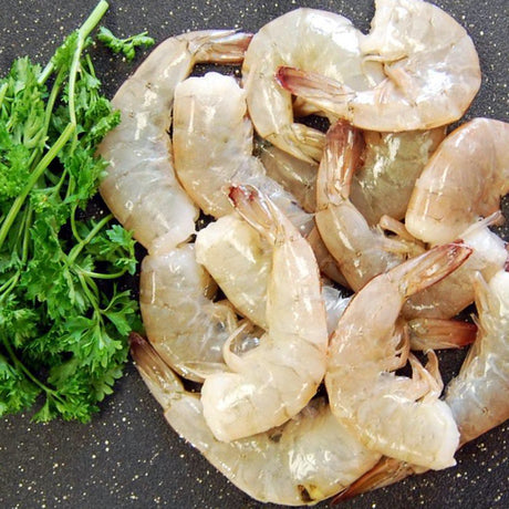 Raw Wild Caught U.S. Gulf Shrimp (Shell-On)