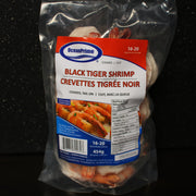 Cooked Black Tiger Shrimp (Peeled & Deveined)