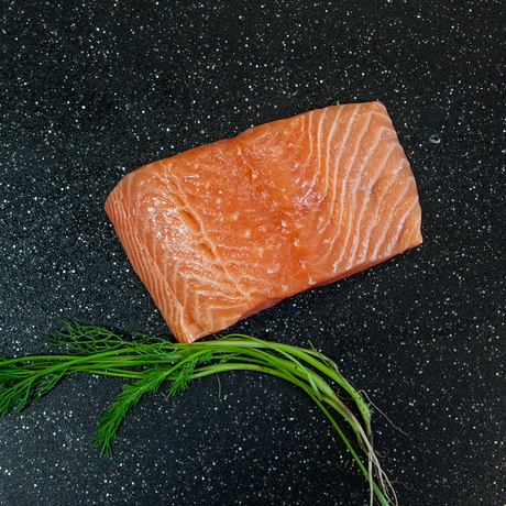 Fresh Atlantic Salmon Portions 7oz.