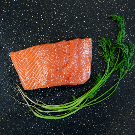 Fresh Atlantic Salmon Portions 4oz.