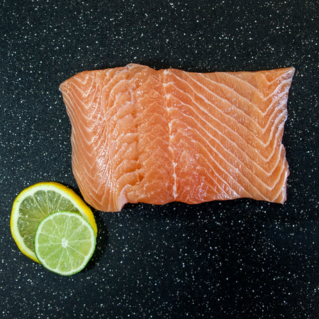 Fresh Atlantic Salmon Portions 10oz.