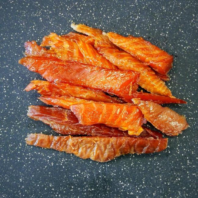Maple Candied Salmon