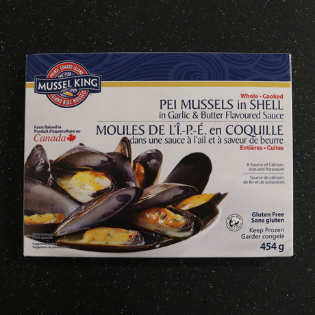 Cooked P.E.I. Mussels