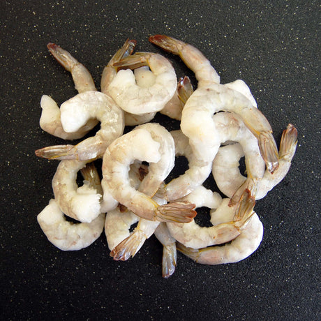 Raw White Pacific Shrimp (Peeled & Deveined)
