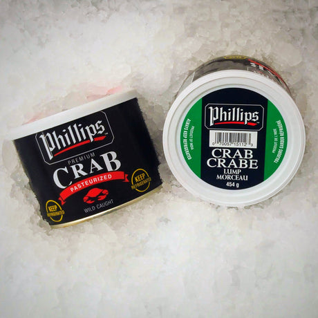 Phillips Pasteurized Lump Crab Meat