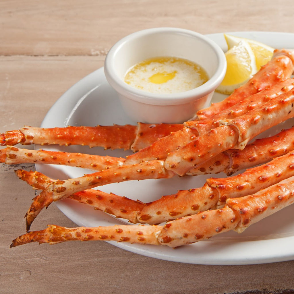 Colossal Gold King Crab Legs
