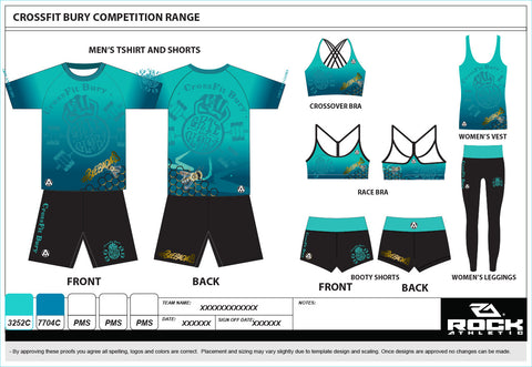 CROSSFIT BURY COMPETITION KIT