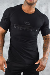 COOL COTTON T SHIRT - BLACK