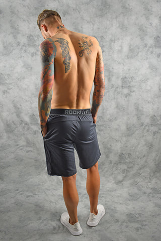 COMFORT TECH SHORTS -SLATE GREY