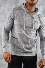 ELITE  HOODIE - LIGHT GREY