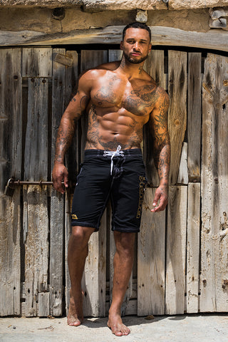BOARD SHORTS - BLACK