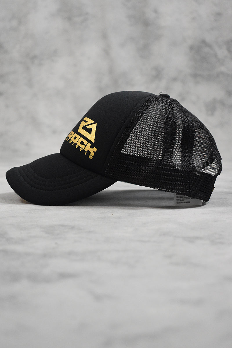 ROCK TRUCKER CAP - BLACK GOLD