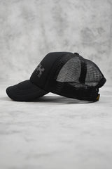ROCK TRUCKER CAP - BLACK