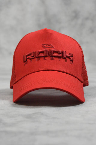 CORE MESH TRUCKERS CAP - RED