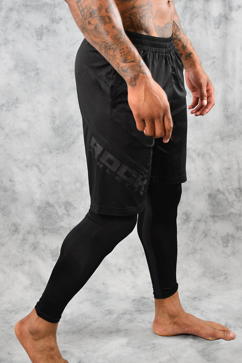 AGGRESSOR SHORTS - BLACK