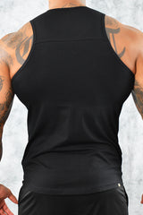 COOL COTTON VEST - BLACK