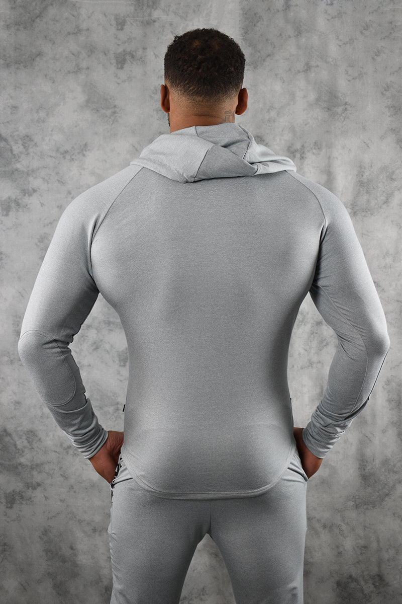 COMFORT TECH HOODIE -LIGHT GREY