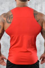 COOL COTTON VEST - RED