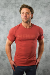 DSTRESS T SHIRT - CLAY RED
