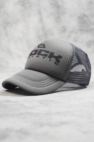 ROCK TRUCKER CAP - GREY