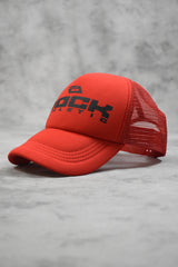 ROCK TRUCKER CAP - RED