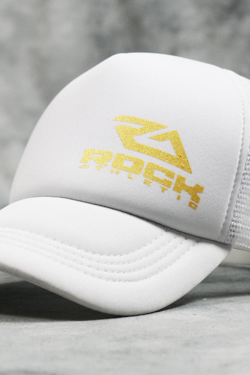 ROCK TRUCKER CAP - WHITE