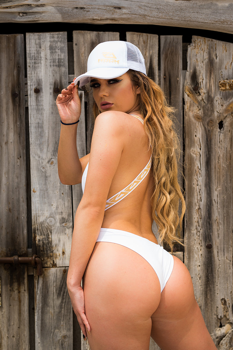 SAN ANTONIO SWIM SUIT - WHITE