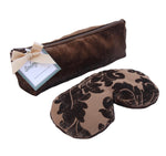 Soulage Mink Brown Chenille Eye Relief Pillow