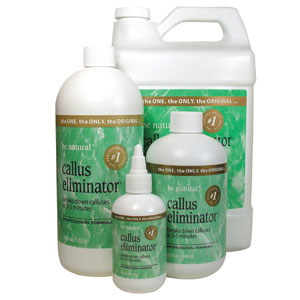 Be Natural Callus Eliminator Orange 18oz.